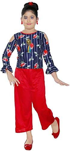 DIGIMART Girls Midi/Knee Length Party Top Pants Dress
