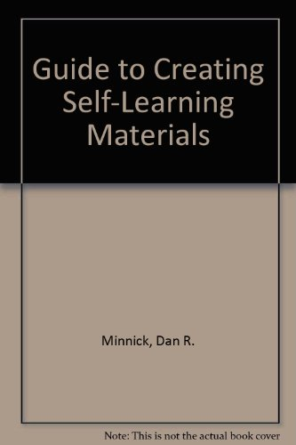 Guide to Creating Self-Learning Materials