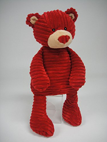(Red Corduroy Hugs and Kisses Bear)