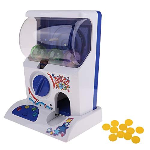 Homyl Home Mini Capsule Toy Machine Gashapon Et Accessoires avec Lumières Et Sons