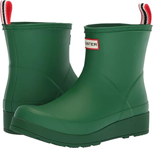 (Hunter Women's Original Play Boot Short Rain Boots Hyper Green 6 M US M)