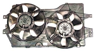 (TYC 620140 Dodge/Plymouth/Chrysler Replacement Radiator/Condenser Cooling Fan Assembly)