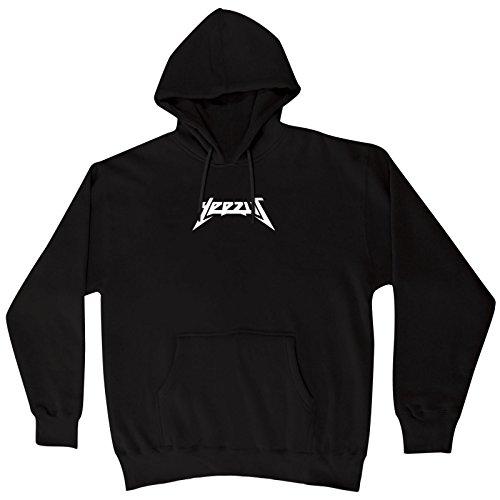 yeezus kanye west hoodie unisex sizing black color. Black Bedroom Furniture Sets. Home Design Ideas