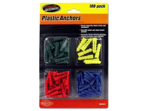 Plastic Anchors Kole Imports MM023