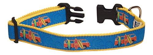 Preston Surfboards Dog Collar, MEDIUM and LARGE DOGS, 1 1/4 Inch Width (X-LARGE, 1 1/4 inch Width) (Preston Fishing)