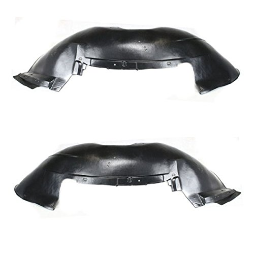 Koolzap For 01-07 Silverado/Sierra Pickup Truck Front Inner Fender Liner Left Right SET PAIR
