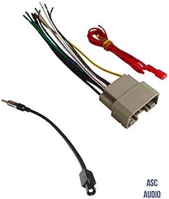 ASC Audio - Arnés de Cable estéreo para Coche y Adaptador de ...