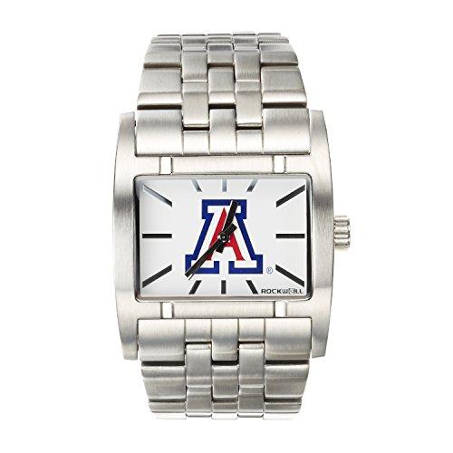 NCAA Arizona Wildcats Men's Apostle Watch, Adjustable, (Wildcats Mens Watch)
