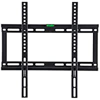 Gadget-Wagon 32-55 Inches Fixed LED LCD Plasma Wall Mount Bracket with Heavy-Duty Max VESA 400 x 400 30 Kg Weight Capacity