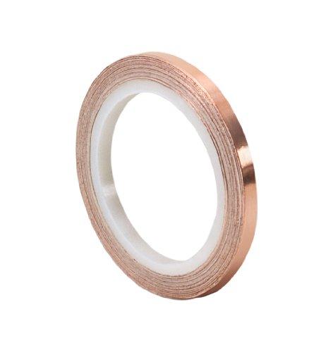 TapeCase 1194 Cinta de láminas de cobre 0.64 cm x 5.5 m (0.25' x 6 yd) (1 rollo)