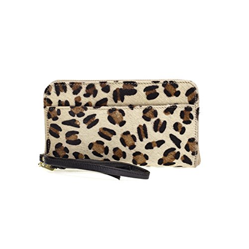 Fab by Fabienne 3 letter logo purse - Bolso panther hairy