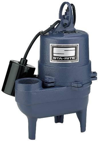 Pentair MYERS GIDDS-704180 Sewage Ejector Pump 1/2 Hp - 7...