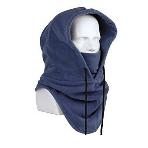 Bine Unisex Winter Heavyweight Mask Warm Windproof Balaclava Outdoor Sports Tactical Full Face Mask Hat Cap