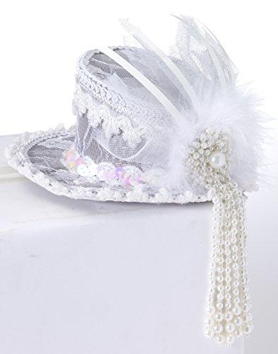 Forum Novelties Ghost Mini Top Hat]()