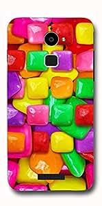 SEI HEI KI Designer Back Cover For CoolPad Dazen Note 3 Lite - Multicolor