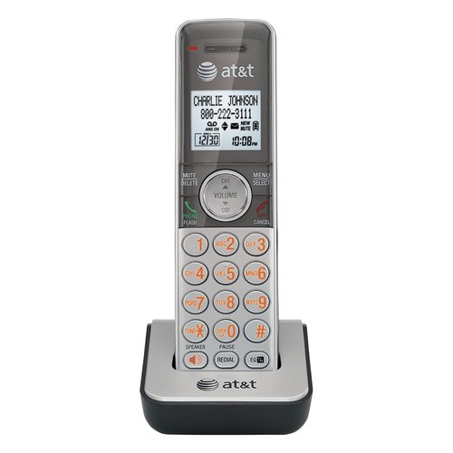 AT&T CL80101 Accessory Cordless Handset, Silver | Requires an AT&T CL81101, CL81201, CL81301, CL82101, CL82201, CL82251, CL82301, CL82401, CL82451, CL82501, or CL82601 Expandable Phone System to Operate
