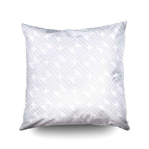 XMas Funda de almohada decorativa con diseño de rombos ...
