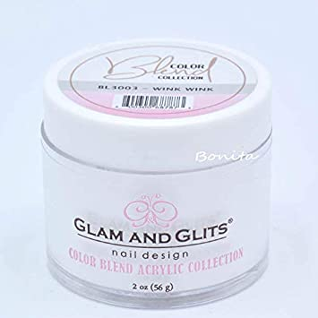 Nail Care, Manicure & Pedicure Health & Beauty Glam And Glits Acrylic Powder Color Blend Collection Bl3001 Milk White 2 Oz
