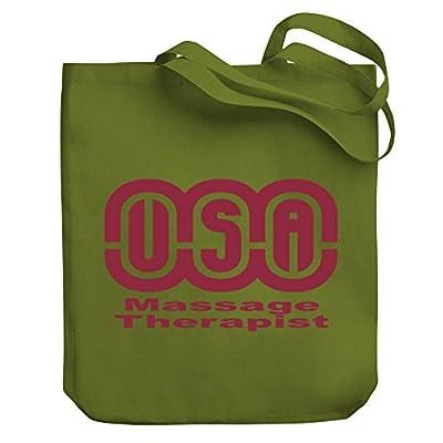 c4ba21dda991 Teeburon USA Massage Therapist Canvas Tote Bag durable service ...