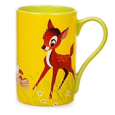 Disney Store Bambi and Thumper Record Cover Mug Coffe Cup 16 -