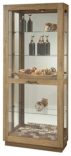 Cabinet Wine Miller Howard Metal (Howard Miller Marsh Bay Curio/Display Cabinet)