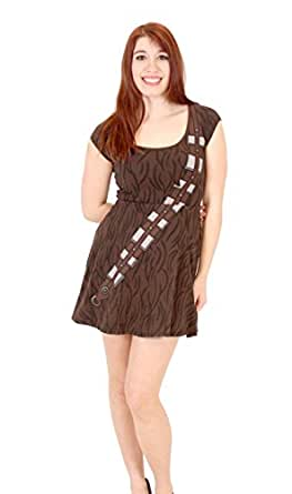 Star Wars Chewbacca Skater Dress Small