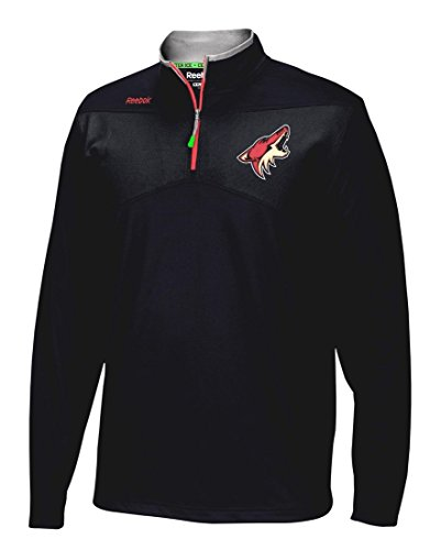 - Phoenix Coyotes Reebok NHL 2016 Center Ice Speedwick 1/4 Zip Sweatshirt