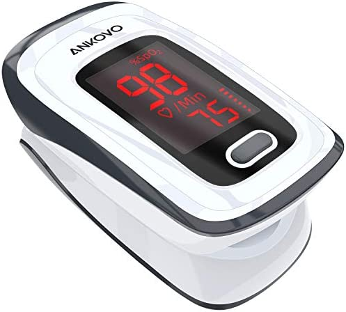 Oximeter Fingertip Saturation Portable Batteries product image