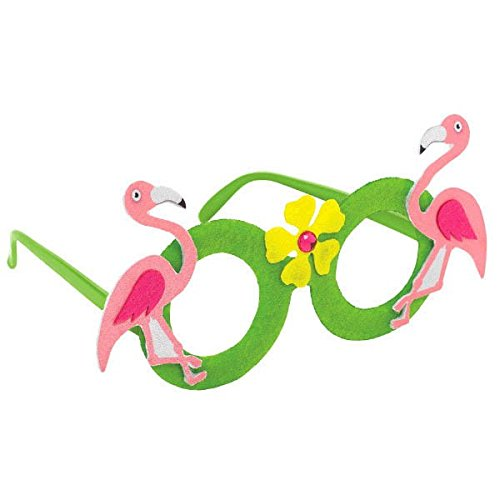 Fun-filled Summer Beach Party Flamingo Eyeglasses Accessory, (Beach Party Accessories)