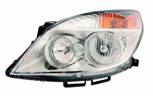 (Depo 335-1149L-ASN Saturn Aura Driver Side Composite Headlamp Assembly with Bulb and Socket)
