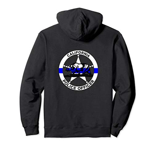 California Police Officer's Department Hoodie Policemen (Best Police Departments To Work For In California)