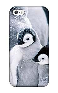 New Penguin Chicks Huddling Skin Case Cover Shatterproof Case For Iphone 5/5s