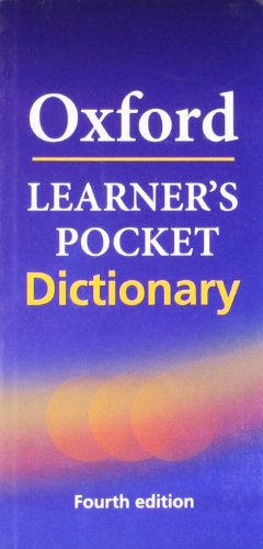 Oxford Oxford Learner'S Pocket English Dictionary: Student Book (Advanced)
