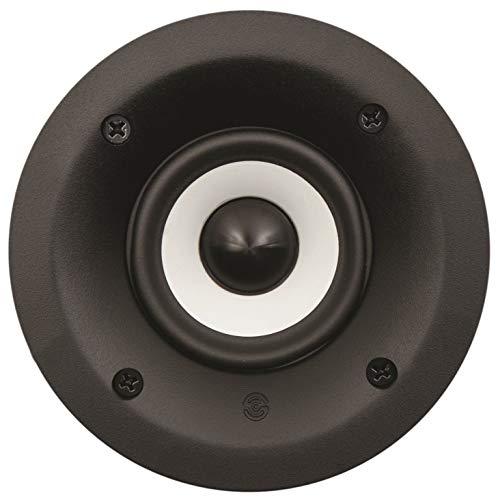 "SpeakerCraft CRS Series Profile CRS3 3"" In-Ceiling Speaker (Each) Black ASM56301"