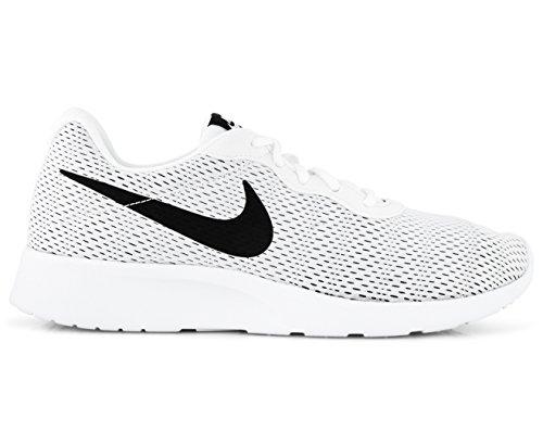 Nike Hommes Baskets Tanjun Soi, Noir / Blanc, Blanc