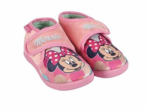 Minnie , Mädchen Hausschuhe rosa Rosa 24