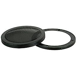 SINGLE 12-Inch 2-Piece Steel Mesh Speaker Subwoofer Grill - Black