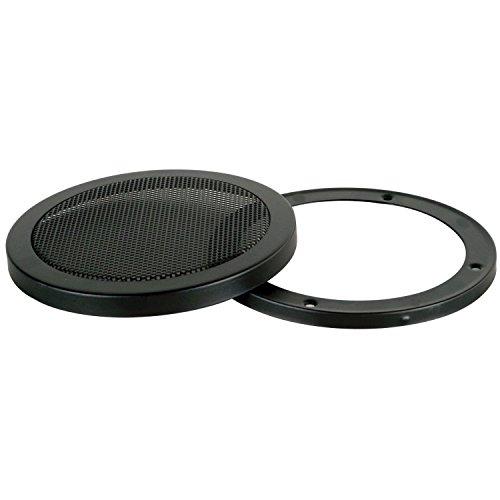 One 10-Inch 2-Piece Steel Mesh Speaker Subwoofer Grill - Black