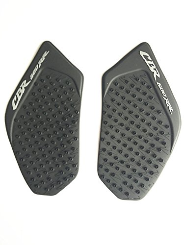 (Gas Fuel Tank Pad Traction Side Knee Grip For Honda CBR 600 RR 2003-2006)