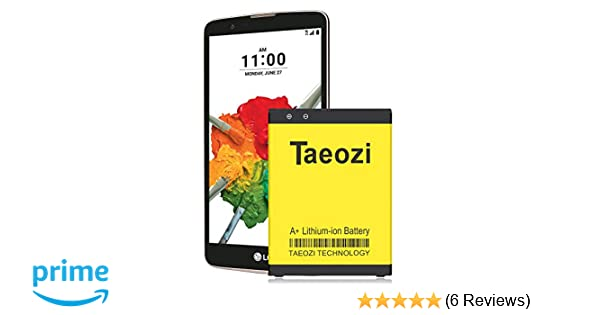 Taeozi LG V10 Battery, 3300mAh Li-ion Replacement Battery BL-45B1F for LG  V10 H960A H961N H900 H901 VS990 LS992 v10 Spare Battery [ 365 Day Warranty ]
