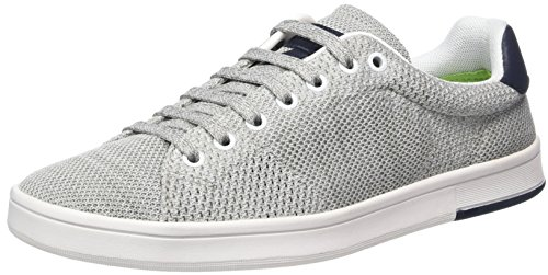 BOSS Green Rayadv_tenn_sykn 10197556 01, Zapatillas Hombre Gris (Light/pastel Grey 50)