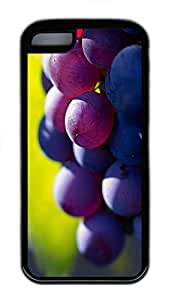 for iphone 6 4.7 Case Delicious Grapes TPU for iphone 6 4.7 Case Cover Black