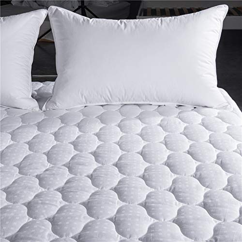 Queen Mattress Topper Cool Cover, Cooling Dust Mite Proof Hy