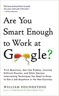 Smart at google work are you book enough to