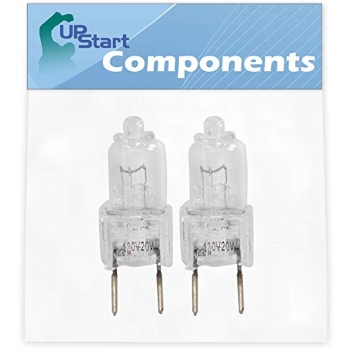 2-Pack 4713-001165 Microwave Halogen Light Bulb Replacement for Kenmore/Sears 40188529900 Microwave - Compatible with Samsung 4713-001165 Light Bulb (Premium Brands Halogen Light)