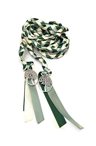 Divinity Braid Forest Sage Tree of Life Wedding Handfasting Cord #Wedding #WeddingCeremony #Celtic #Handfasting #HandfastingCord #CelticWedding #CelticKnot (Celtic Wedding Decorations)