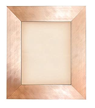 brushed copper rose gold metal finish wood picture frame size 4x6 5x7 8x8 8x10 11x14 12x16