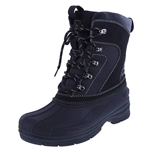 Airwalk Black Men's Vortex Boots 11 Regular (Airwalk Boots)
