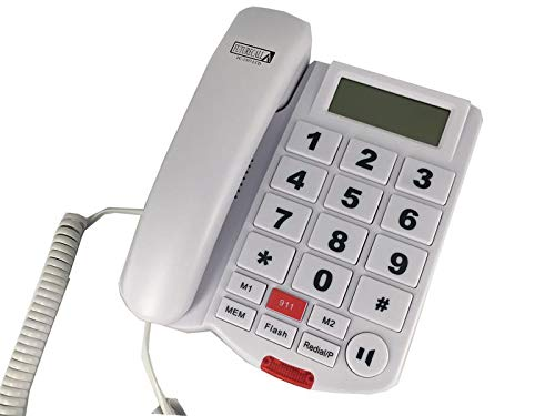 (Future Call FC-1507-LCD Big Button Caller ID Phone with 2 Way Speakerphone and 40db Handset Volume)