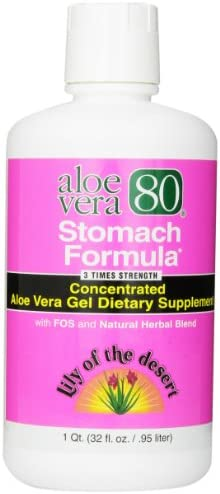 Aloe 80 Organics Stomach Formula, 32 Ounce